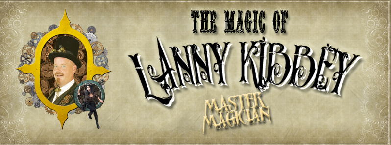 magician Lanny Kibbey performs magic shows in the Houston area